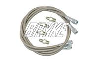 Steel Braided Go Kart Brake Line Kit