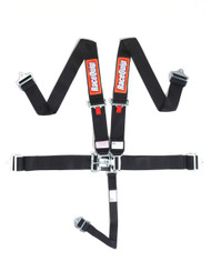 Racequip Racing Harness 5pt. Black Belts