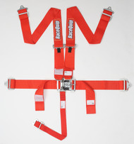Racequip Racing Harness 5pt. Red Belts