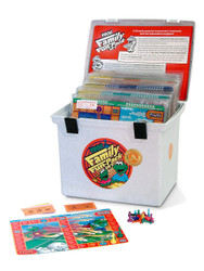 PA-733 Family Fun-Pack Game Set - Level A Math (reviews 1st grade skills)