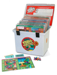 PA-735 Family Fun-Pack Game Set - Level C Math (reviews 3rd grade skills)