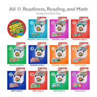 All 11 Family Fun-Pack Sets: Readiness, Reading, and Math