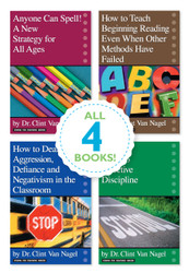 All 4 Wisdom for Teachers series books!