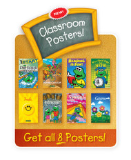 "CP-800 Set of 8 11""x17"" Classroom Posters"