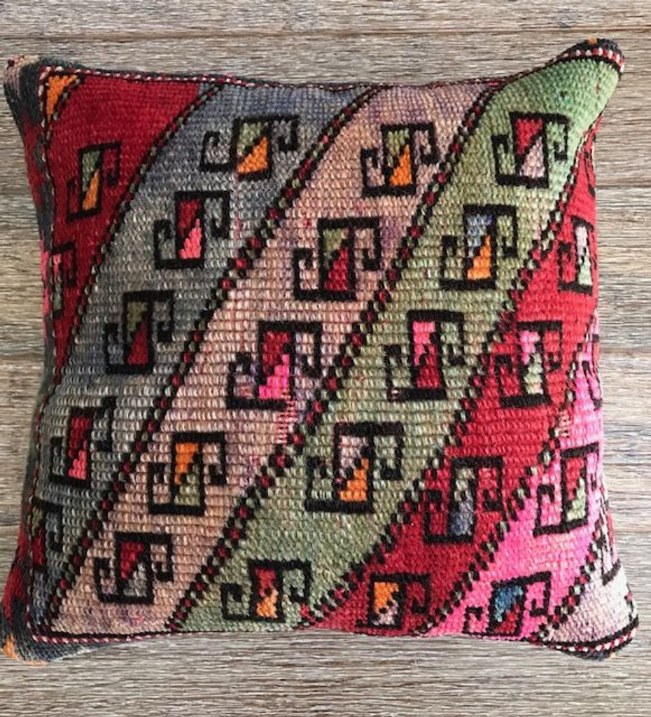 Vintage Kilim Cushion 2