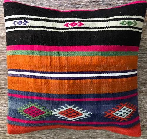 Vintage Kilim Cushion 24