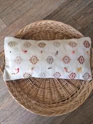 Circles Vintage Kilim Lumbar Cushion