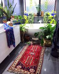 """Azar""Vintage Hand Loomed Persian Rug"