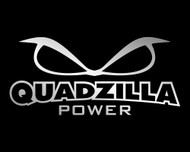 Quadzilla Decal 10-inch