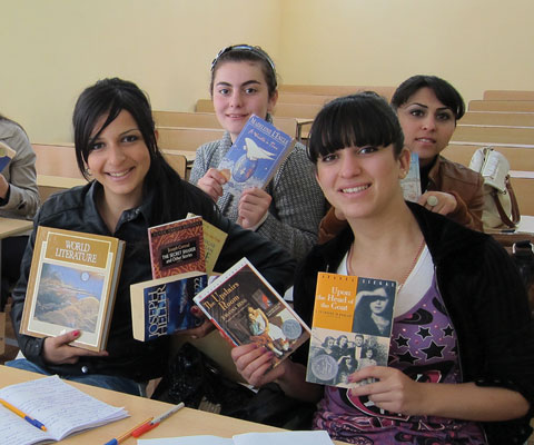 Armenia:  Library resources