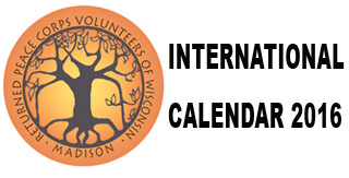 RPCV International Calendar 2016