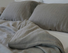Natural linen, handmade from pure eco-lux French linen. Airy, soft, durable, extremely comfortable.
