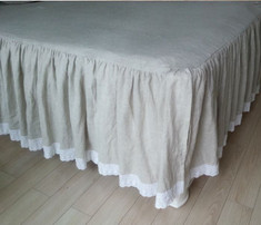 Laced bedspread  | Handcrafted by SuperiorCustomLinens.com