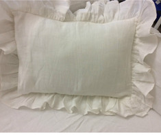 ruffle baby pillow cover