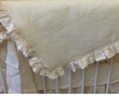 Baby Comforter with Ruffle Details