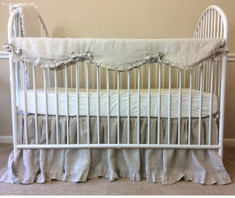 Neutral Baby Bedding  | Handcrafted by Superior Custom Linens