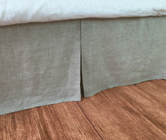 tailored dust ruffle bed skirt,