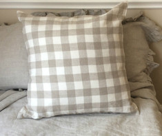 Buffalo check plaid pillow cover
