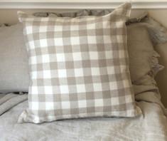 Buffalo check plaid pillow cover