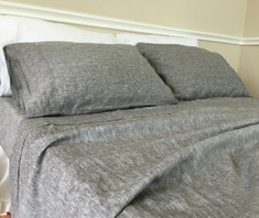 Chambray grey sheets