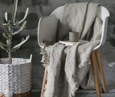 linen blanket covers