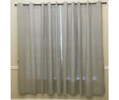 linen curtains, flax curtains