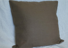 Dark brown euro sham