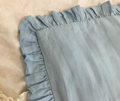 baby comforter natural linen