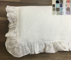 Baby comforter with batting, white, grey, blue, pink and more