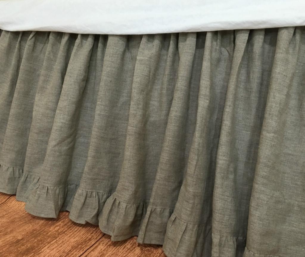 King Bed Skirt Velcro