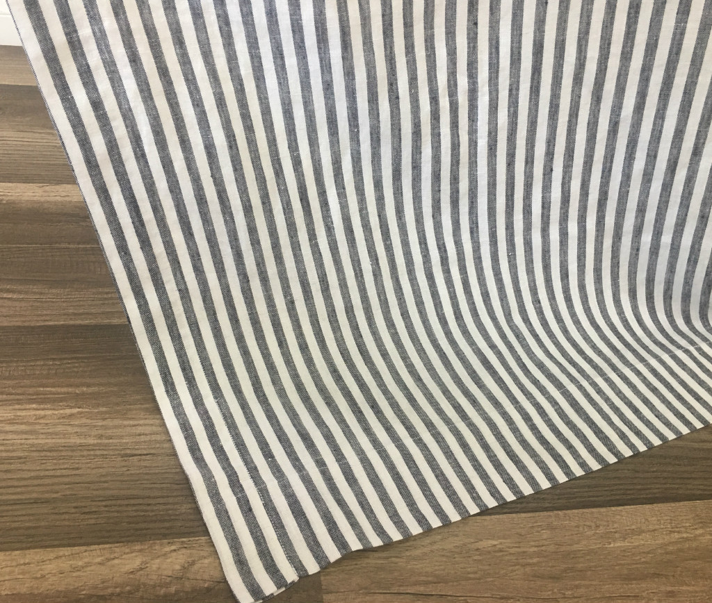 Nautica palmetto bay stripe shower curtain from beddingstyle com - Navy And White Striped Shower Curtain Handcrafted By