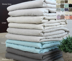 linen duvet cover , over 40 colors, patterns