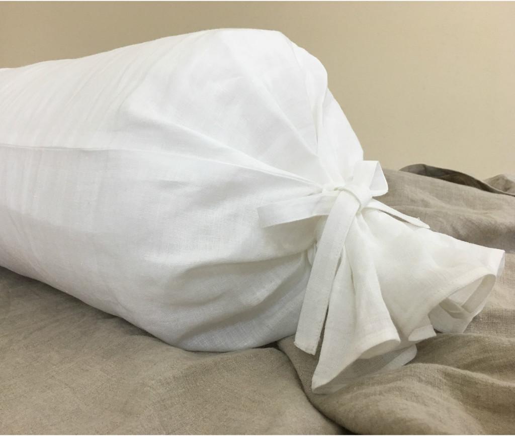 linen bolster pillow cover extra long bolster pillow