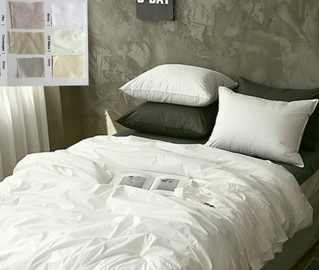 white cotton duvet cover