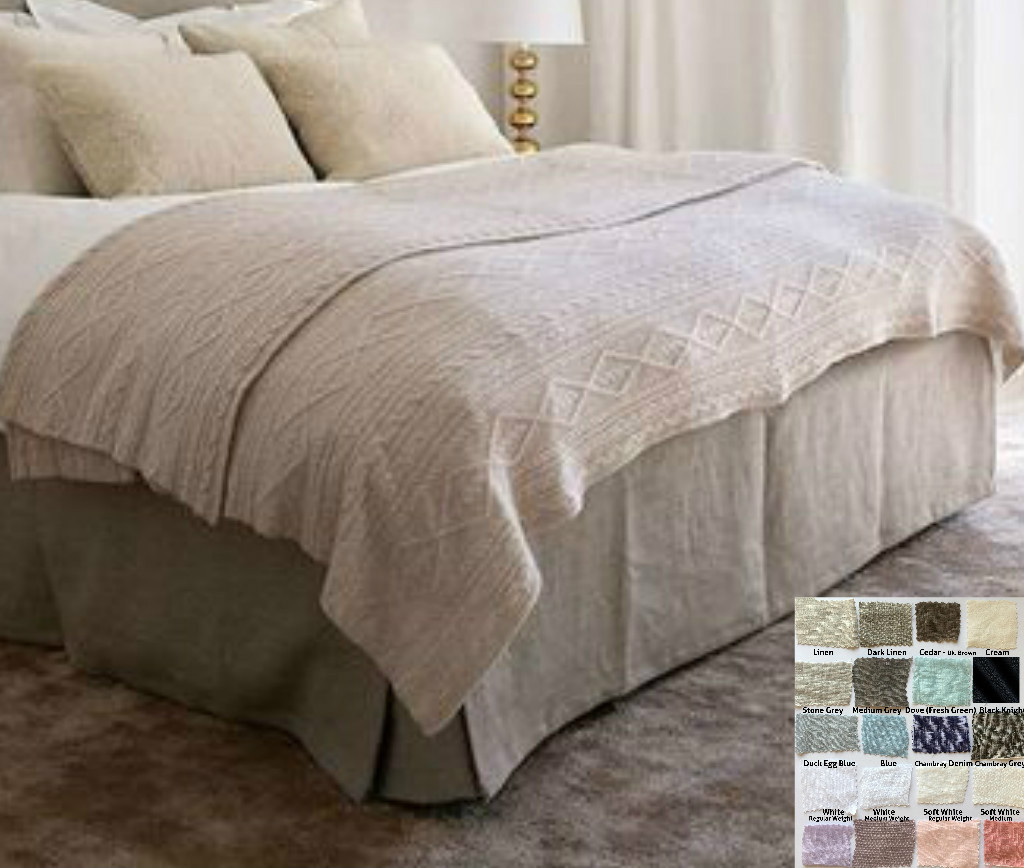 Exceptionnel Box Bed Skirt U2013 Multiple Colors To Choose U2013 Minimalistic Classy ...