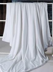 Hand-layered silk comforter, 100% Mulberry Silk.