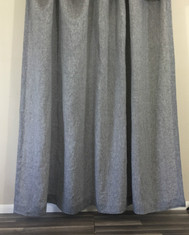 grey linen shower curtain. Chambray Grey Linen Shower Curtain Custom Size  Superior Linens