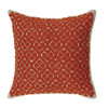 Kogin Kit Red Cushion
