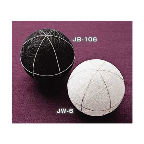 1 White Mari (Ball) to Make Temari JW-6