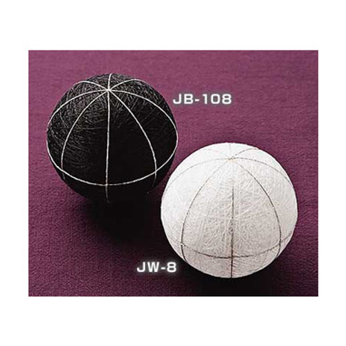 1 White Mari (Ball) to Make Temari JW-8