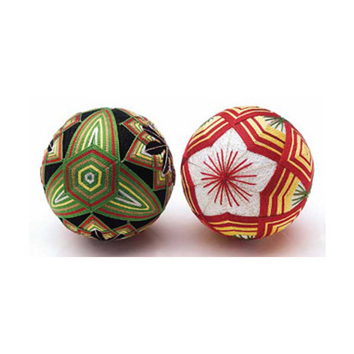 2 Temari Balls with English Instructions TM-4