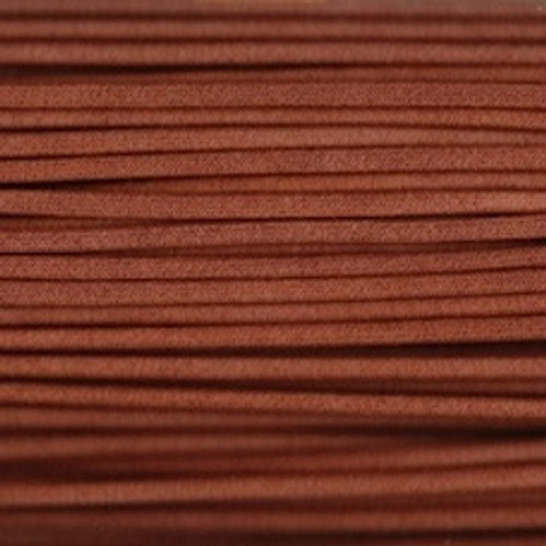 Waxed Cotton Cording Brown