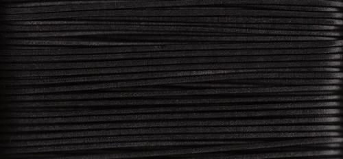 Waxed Cotton Cording Black WCC-26