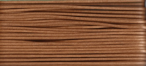Waxed Cotton Cording Brown WCC-5