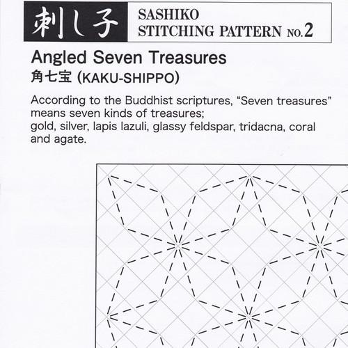 Angled Seven Treasures (Kaku-Shippo) PSS-2