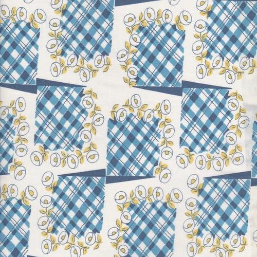 Blue Tartan Squares