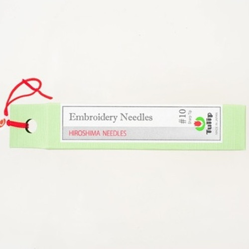 Embroidery Needles #10 Sharp Tip