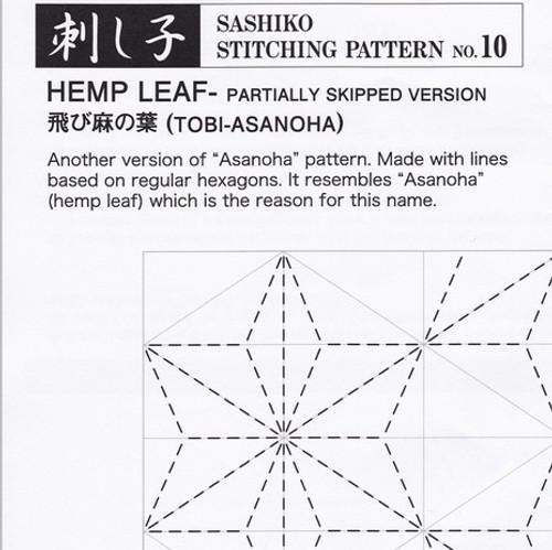 Hemp Leaf (Tobi-Asanoha) PSS-10