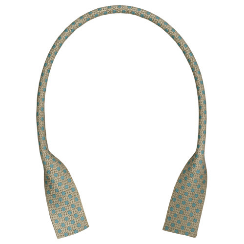 Linen Bag Tape Handles 41cm Spotty YAT-4182