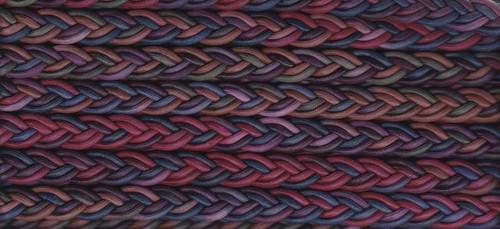 Multi Coloured Plaited Cording BT-1553-217